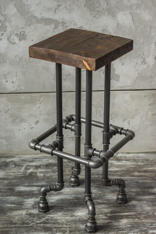 Барные стулья в стиле лофт своими руками 97